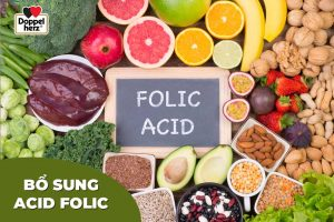 bổ sung acid folic cho mẹ bầu sao cho đúng
