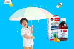 Kinder Immune Syrup - Tăng cường hệ miễn dịch cho bé yêu