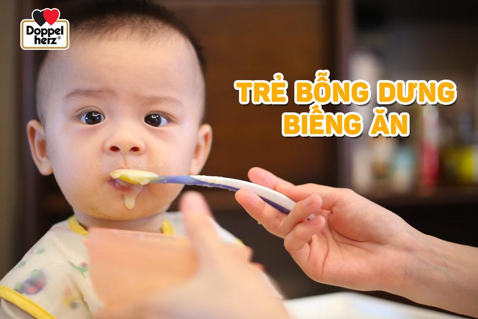 Nỗi lo lớn nhất của cha mẹ là trẻ bỗng dưng biếng ăn
