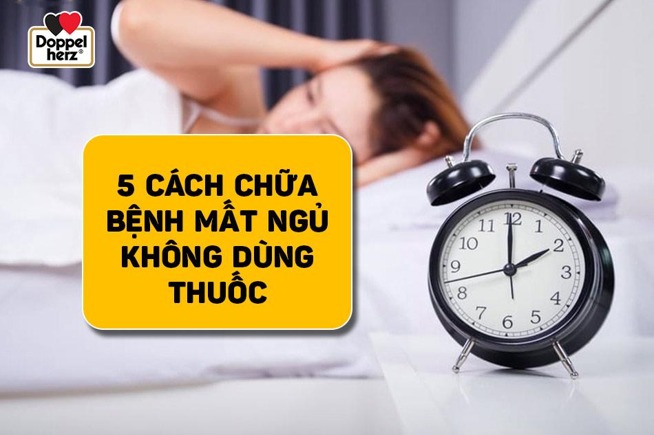 Làm thế nào để chữa mất ngủ mà không cần dùng thuốc