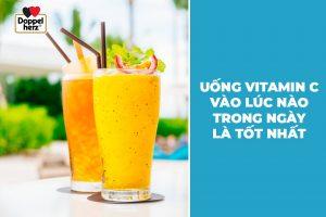 Nên uống vitamin C vào lúc nào trong ngày là tốt nhất