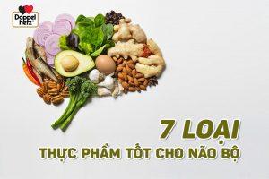 7 loại thực phẩm tốt cho não bộ
