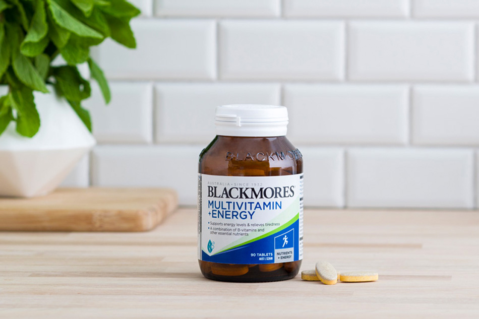 Blackmores Multivitamin+Energy