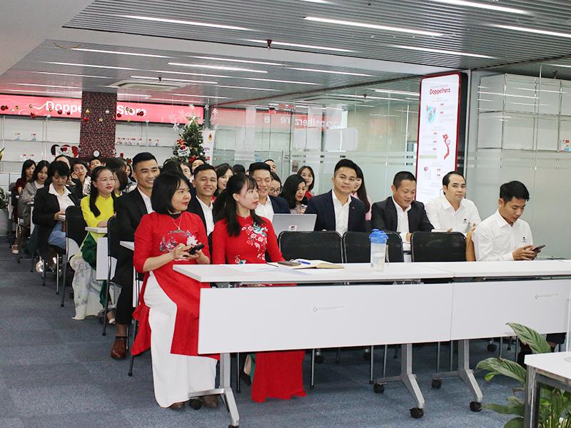Đại hội công đoàn được diễn ra ngay tại văn phòng công ty cổ phần MasterTran