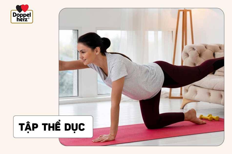 Tập thể dục sau sinh để giảm cân hiệu quả