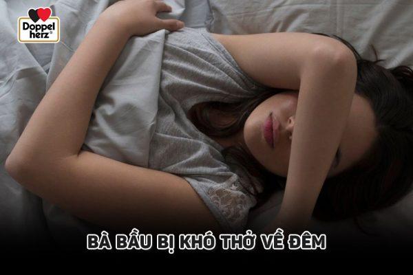 Tại sao bà bầu khó thở về đêm