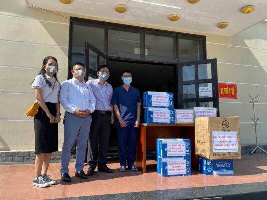 Doppelherz Việt Nam ủng hộ trung tâm cách ly T1 Thừa Thiên Huế