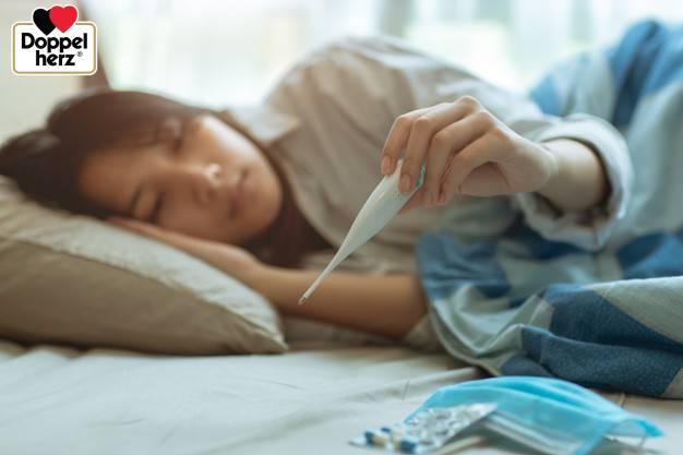 Mẹo giảm sốt giúp tăng cường sức đề kháng