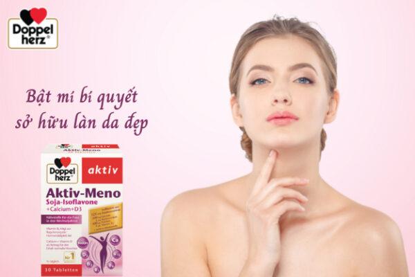 Aktiv Meno đến từ thương hiệu Doppelherz chính là bí quyết sở hữu làn da đẹp