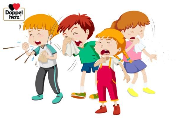 Trẻ em rất dễ bị ho đau họng do sức đề kháng của trẻ vẫn còn yếu